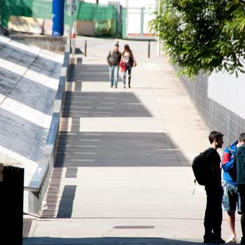 Espai de conexió de la Universitat de Girona, centre al que l'ERAM està adscrit