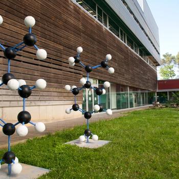 Área de la facultad de ciencias de la Universidad de Gerona, centro al que la ERAM está adscrito