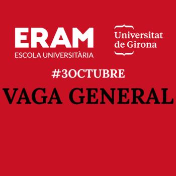 Comunicat de l'Escola Universitària ERAM arran dels esdeveniments que s'estan produint aquests dies