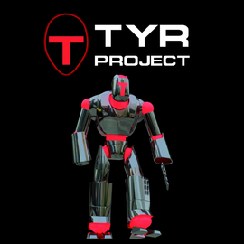 Design and animation of a 3D character: TYR project  - EU ERAM