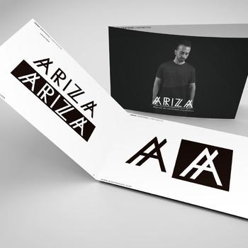 'ARIZA' Design of DJ brand and online promotion