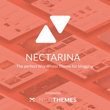 Nectarina. Design and development of a WordPress template