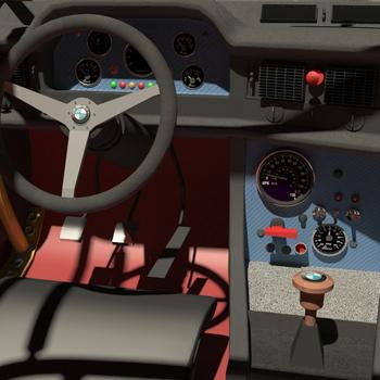 Recreation interior interactive virtual reality